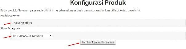 konfigurasi hosting di jagoweb.com