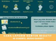 Cara Mudah Laporin Konten Negatif Ke Kominfo Agar Tidak Merajalela