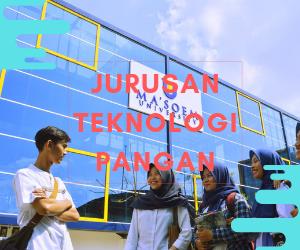 Jurusan Teknologi Pangan di Ma`soem University