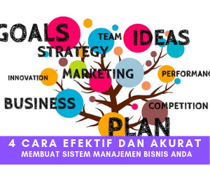 4 Cara Efektif dan Akurat Membuat Sistem Manajemen Bisnis Anda
