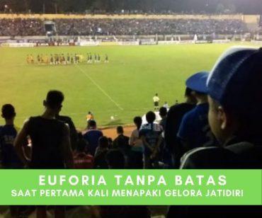 Menapaki Gelora Stadion Jatidiri Untuk Pertama Kalinya