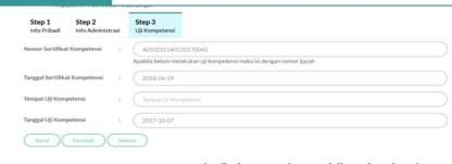 Proses Upload Data Persyaratan STR Baru Step Ketiga