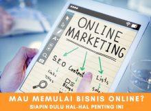 INGAT! 4 Hal Yang Perlu Dipersiapkan Sebelum Memulai Bisnis Online
