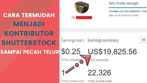 Cara Mendaftar Jadi Kontributor Shutterstock