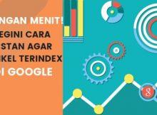 Cara Instan Agar Artikel Baru Langsung Terindex Google, Hitungan Menit!