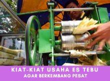Kiat-Kiat Usaha Minuman Es Tebu Agar Berkembang Pesat